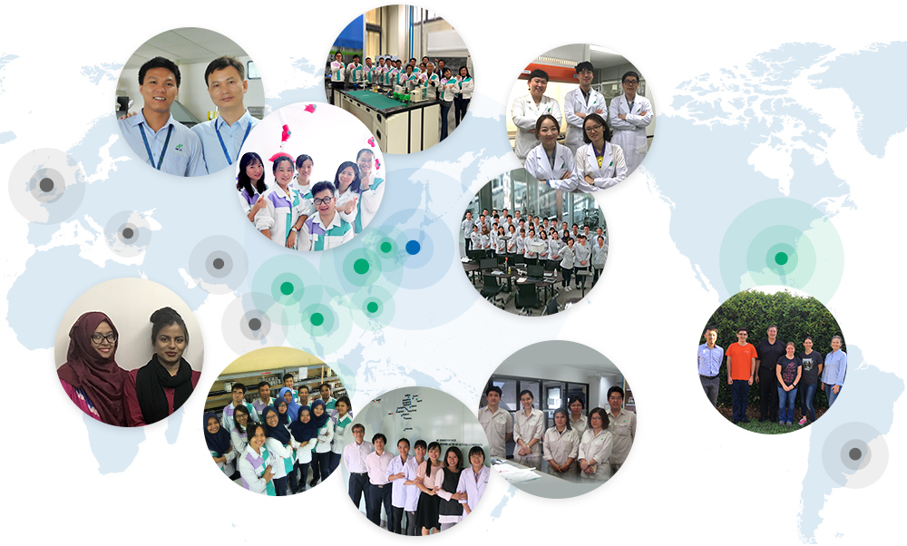 Global footprints of R&D at NICCA CHEMICAL